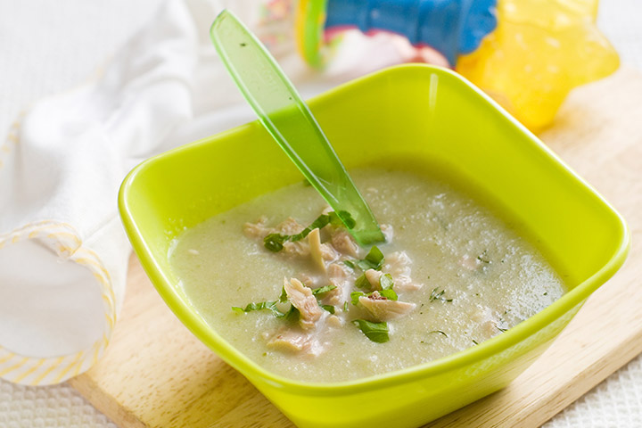 Chicken And Basil Soup