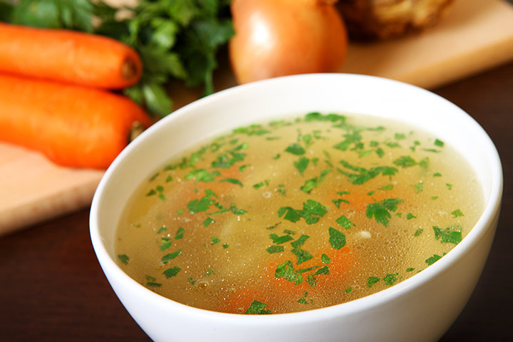 Chicken And Carrot Soup