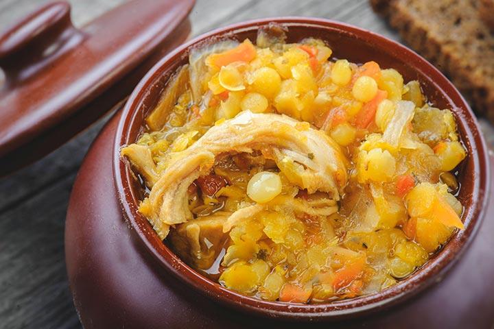 Chicken Lentil And Barley Soup