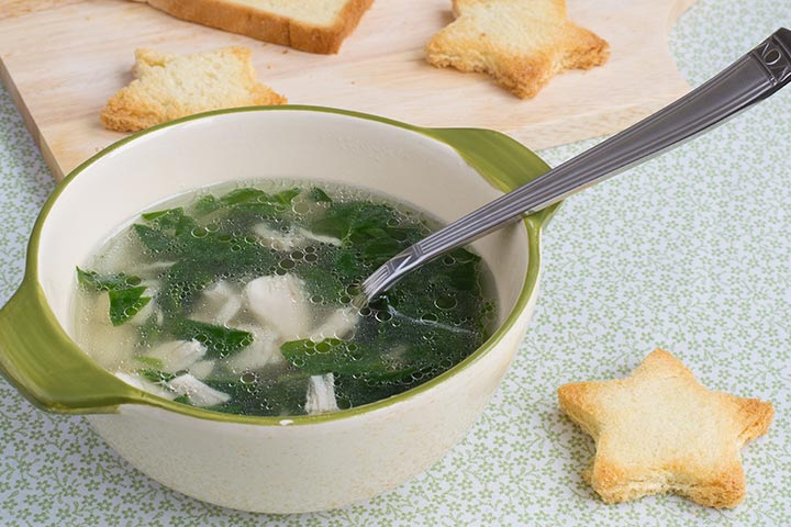 Chicken Spinach And Potato Soup