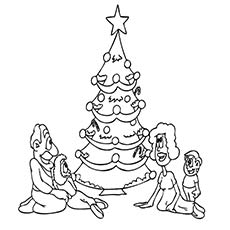 photograph about Printable Christmas Tree Coloring Pages identify Best 35 Absolutely free Printable Xmas Tree Coloring Web pages On-line