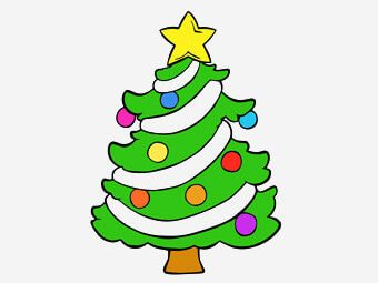 Top 35 Christmas Tree Coloring Pages For Your Little Ones