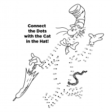 Connect The Dots Cat In The Hat