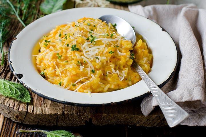 Creamy Carrot Rice