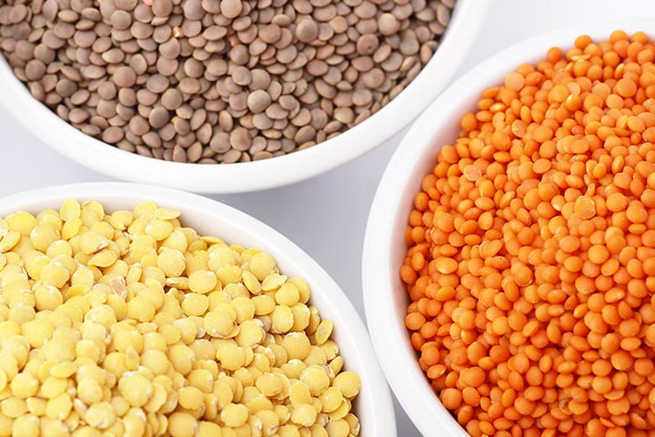 Health Benefits Of Lentils For Babies