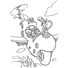 Top 25 Free Printable Cat In The Hat Coloring Pages Online