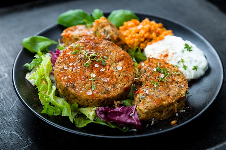 Lentil patties (cakes)