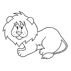 Coloring Pages Of Animals Lion