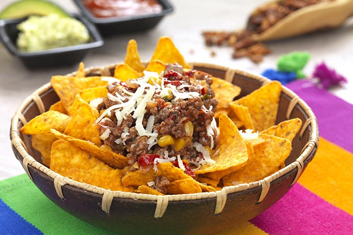 Minced Meat Nachos