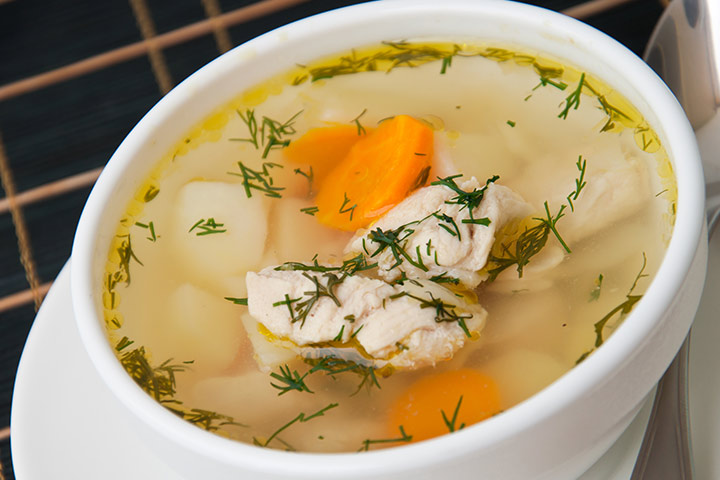 Old Fashioned Simple Chicken Soup