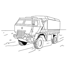 Instant Download - Vintage Truck - Printable Coloring Page ... | 230x230