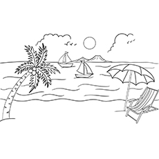 Free, Printable Summer Coloring Pages for Kids | 230x230