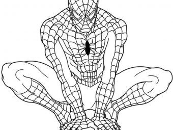 Top 20 Superhero Coloring Pages For Your Little Ones
