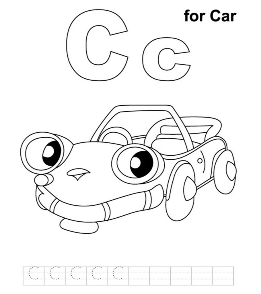 Free coloring book pages of cars ~ Top 25 Free Printable Cars Coloring Pages Online