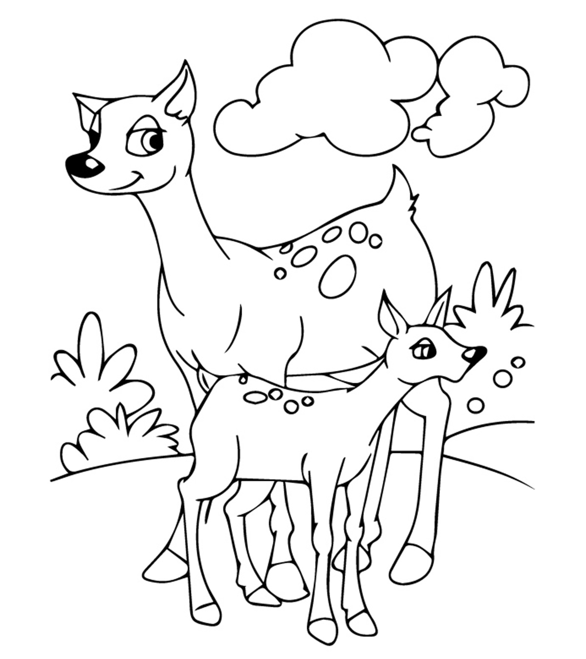 animal coloring pages momjunction. Black Bedroom Furniture Sets. Home Design Ideas