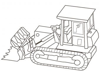Top 25 Truck Coloring Pages For Your Little Ones