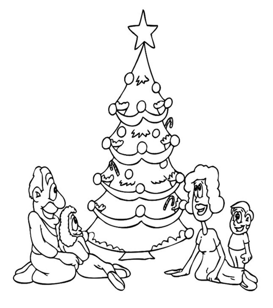Christmas Trees Colouring Pages: Top 35 Free Printable Christmas Tree Coloring Pages Online