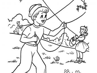 Top 50 Summer Coloring Pages For Toddlers