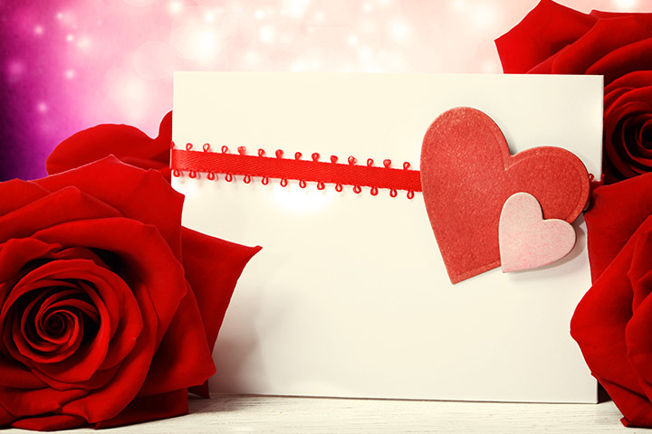 Valentine's Day Greeting Card Envelope Decoration