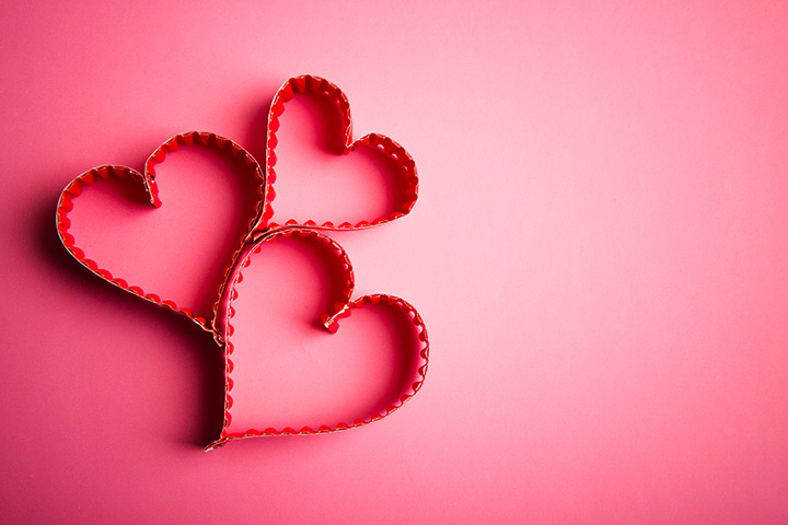 valentines day lace hearts - Valentine Day Crafts For Kids