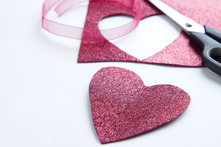 Valentine Ribbon Brooches