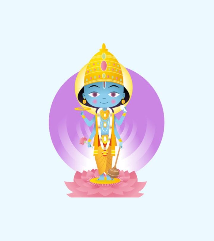 Lord Vishnu Names For Baby Boy