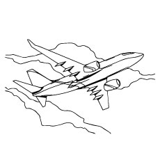 photos-of-plane-coloring-pages