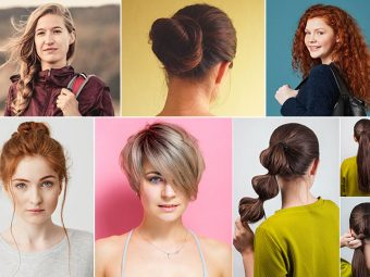 21 Simple Hairstyles For School Girls