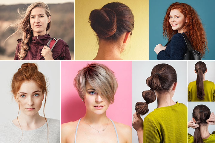 21 Quick And Easy Teen Hairstyles For School