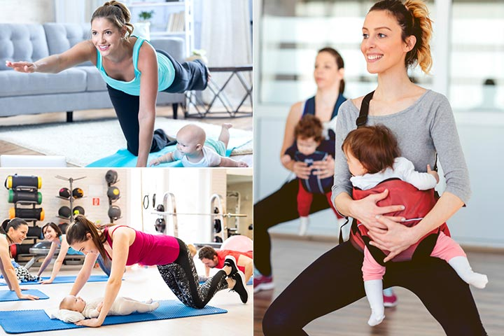 21 Fun Ways To Exercise With Baby Post Pregnancy