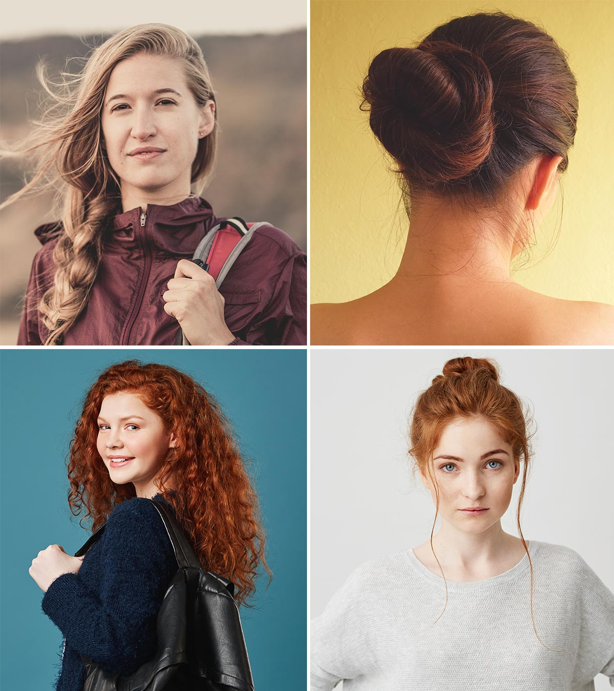 21 Easy And Simple Hairstyles For School Girls
