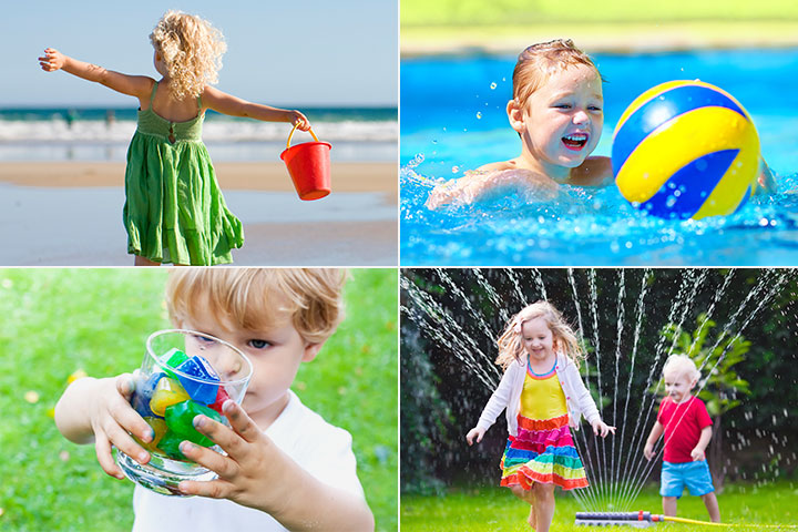 25 Fun Water Games For Kids
