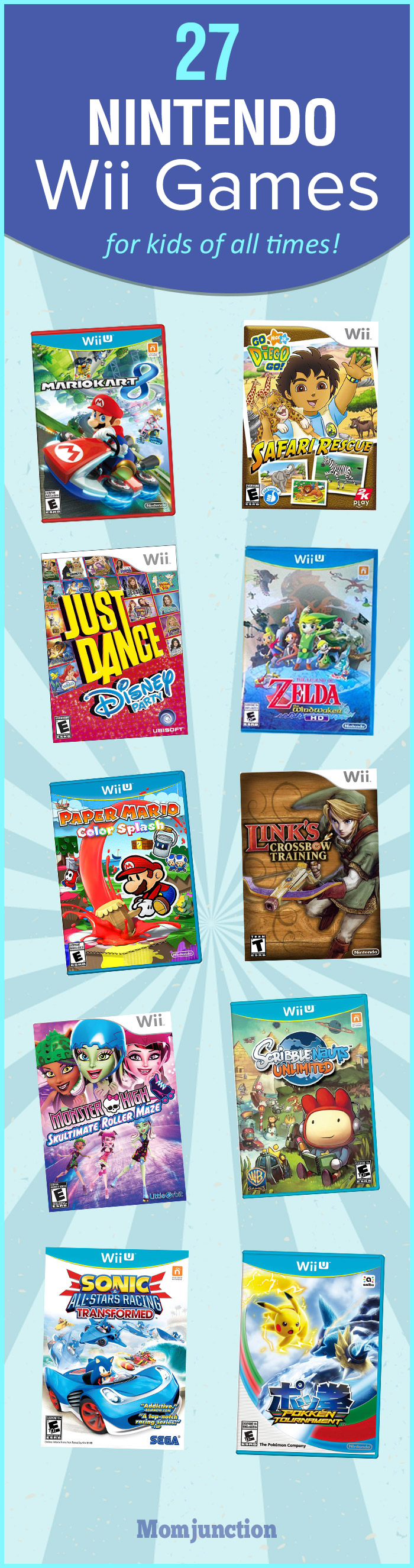 Wii U Games For Girls : All wii games pictures to pin on pinterest daddy