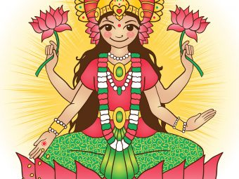 50 Best Names Of Hindu Goddess Lakshmi For Your Baby Girl