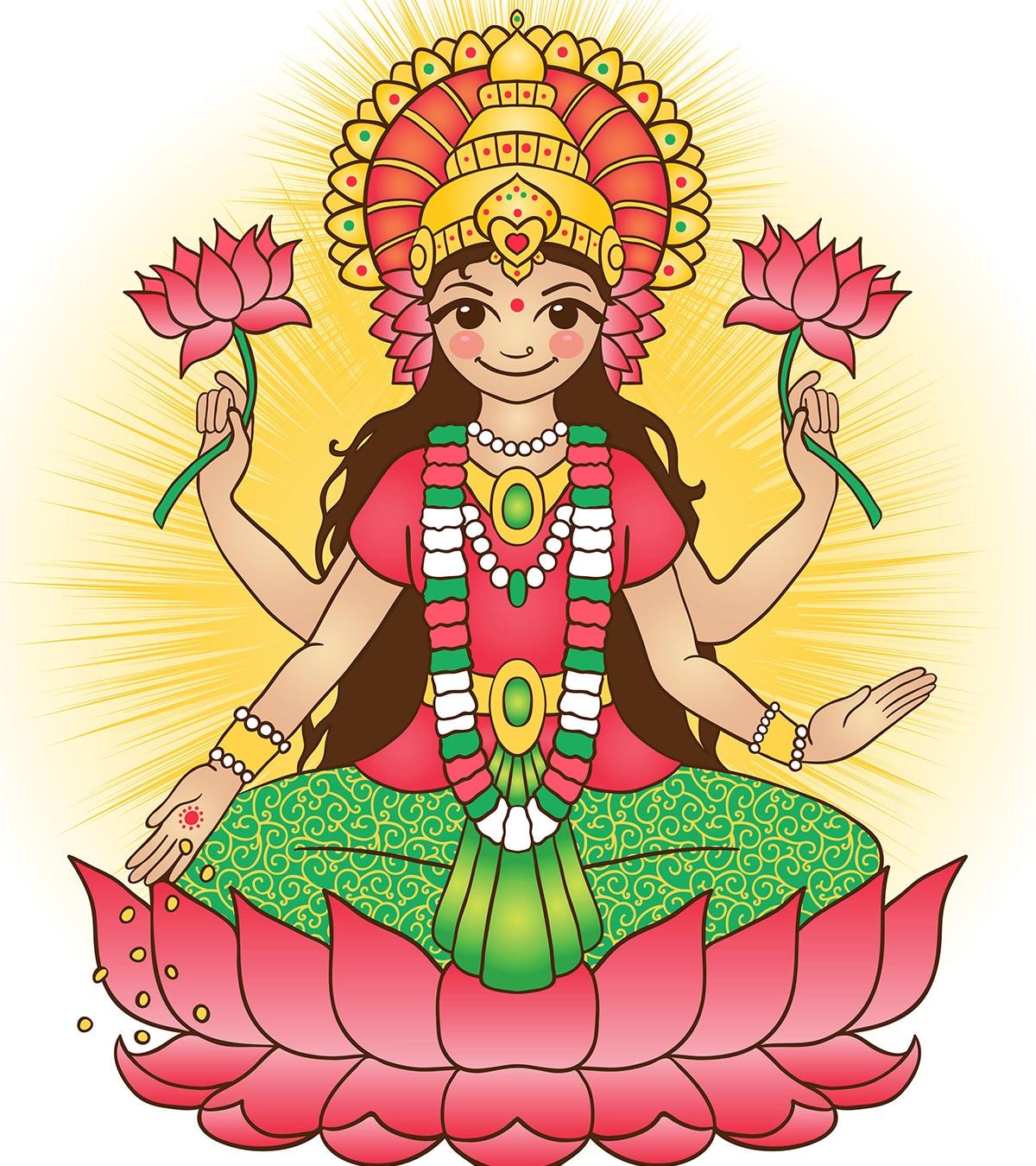 20 Best Goddess Lakshmi Names For Baby Girl