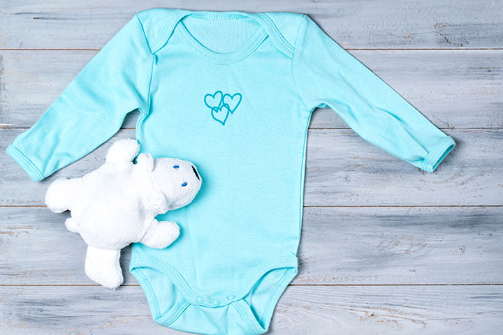A cute and comfortable onesie with feet