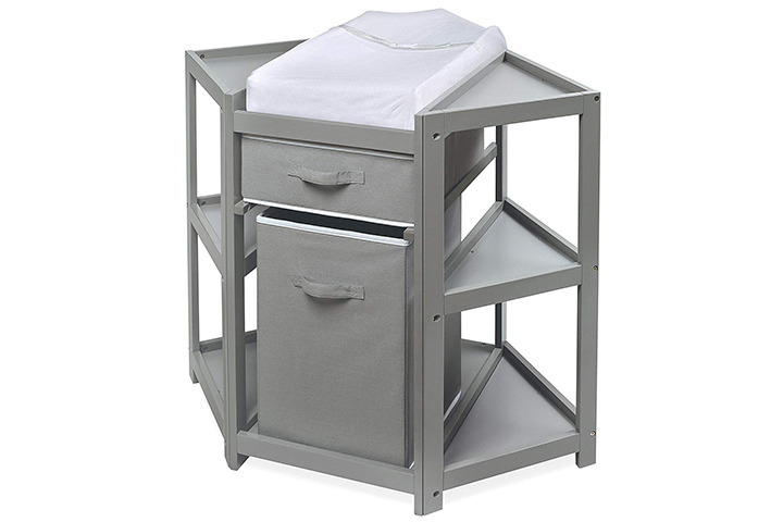 Badger Basket Corner Changing Table