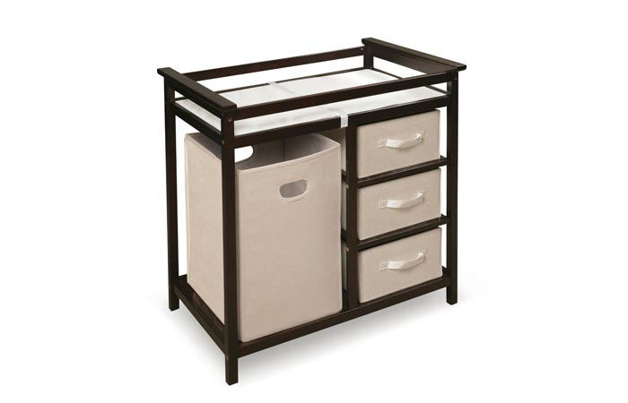 Badger Basket Modern Changing Table:
