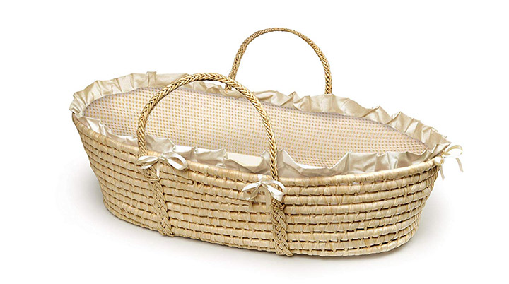 Badger Basket Natural Moses Basket