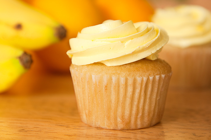 Easy Banana Cupcake Recipe For Kids Pictures