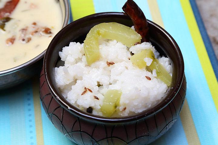 Beaten Rice With Banana