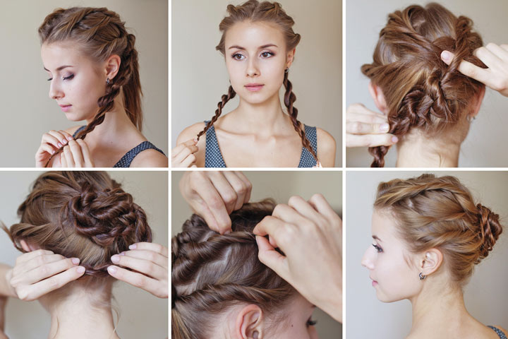 Prime 10 Cute And Easy Teenage Girl Hairstyles For School Hairstyles For Men Maxibearus