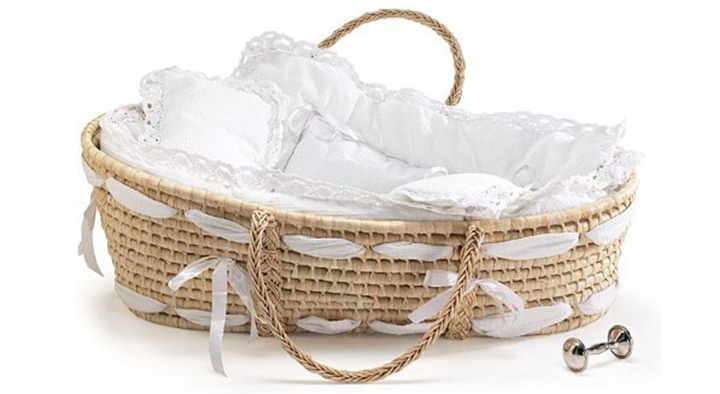 Burton and Burton Natural Baby Moses Basket