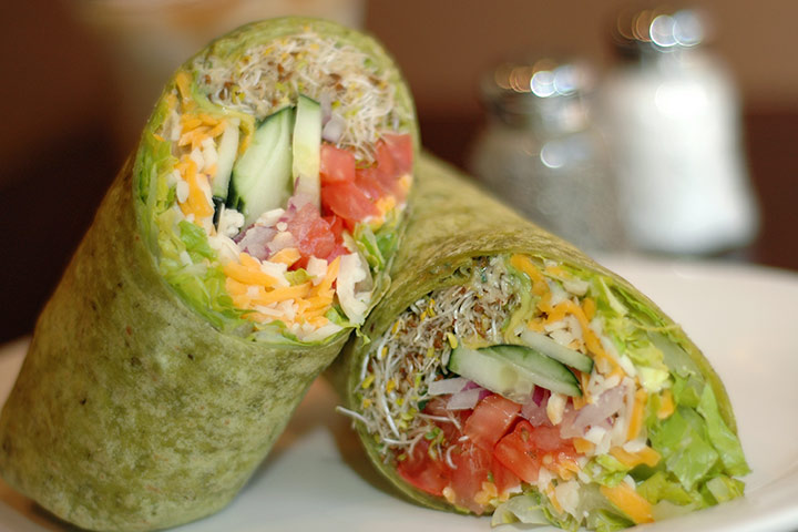 California Wrap Sandwich
