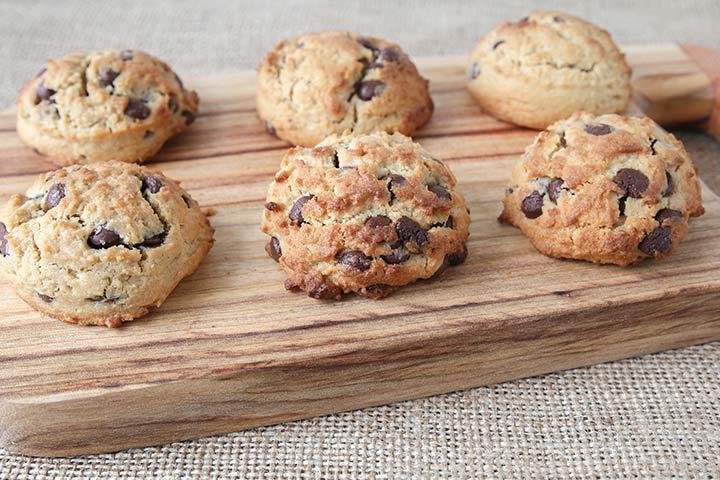 Choco-coconut Cookies