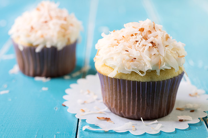 Healthy Coconut Cupcake recipes for kids Pictures