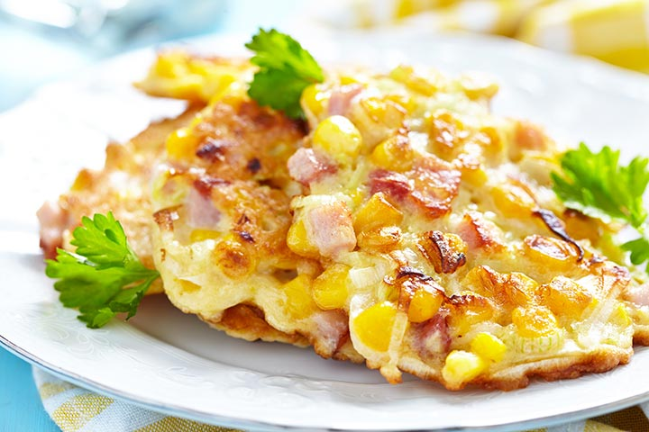 Corn Pikelets