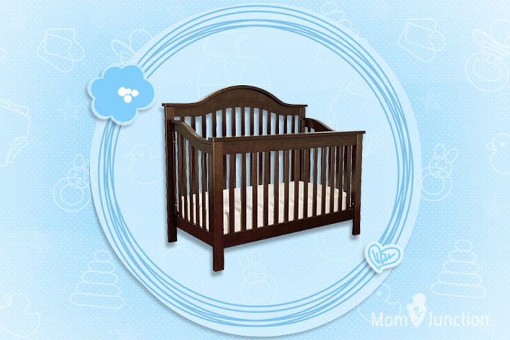 DaVinci Jayden 4 in 1 Crib with Toddler Rail