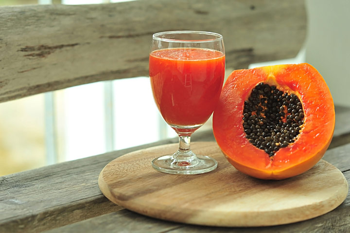 Easy Papaya Smoothie