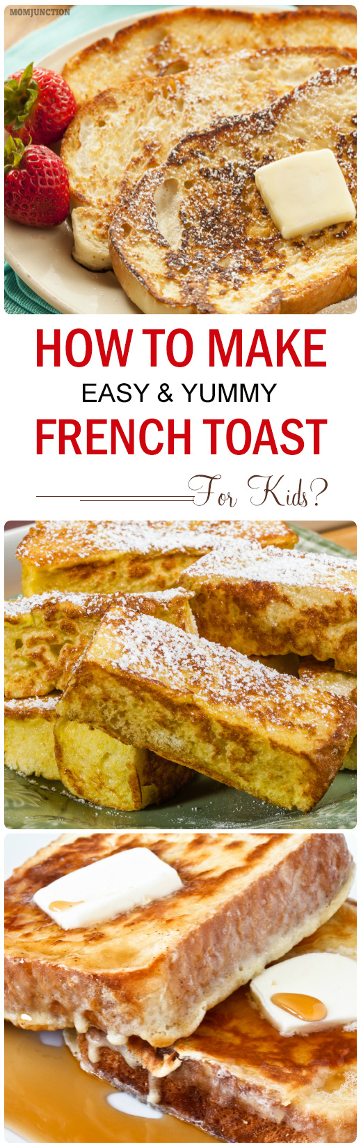 Make Your Own Healthier French Toast Sticks Home » Kid » Food